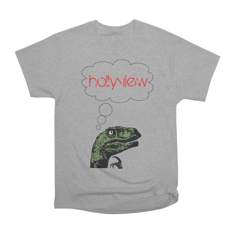 Clever Raptor Women's Heavyweight Unisex T-Shirt by hollyview's Artist Shop
