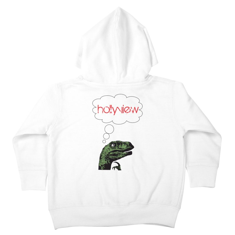 Clever Raptor Kids Toddler Zip-Up Hoody by hollyview's Artist Shop