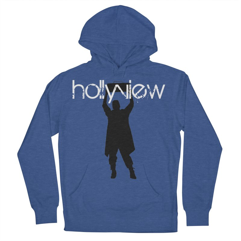 Say Something Something Men's French Terry Pullover Hoody by hollyview's Artist Shop