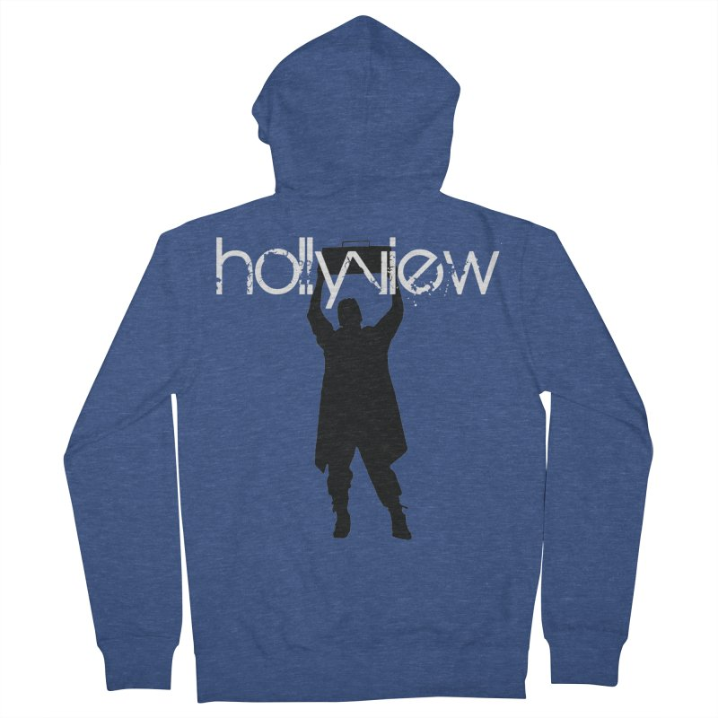 Say Something Something Women's French Terry Zip-Up Hoody by hollyview's Artist Shop
