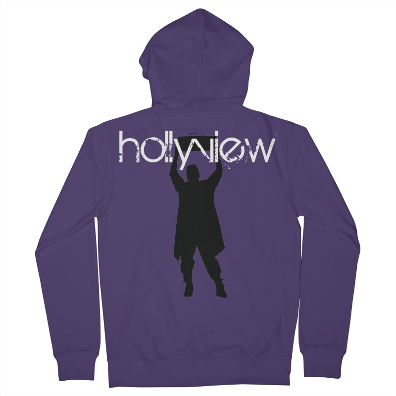 Say Something Something Women's Zip-Up Hoody by hollyview's Artist Shop