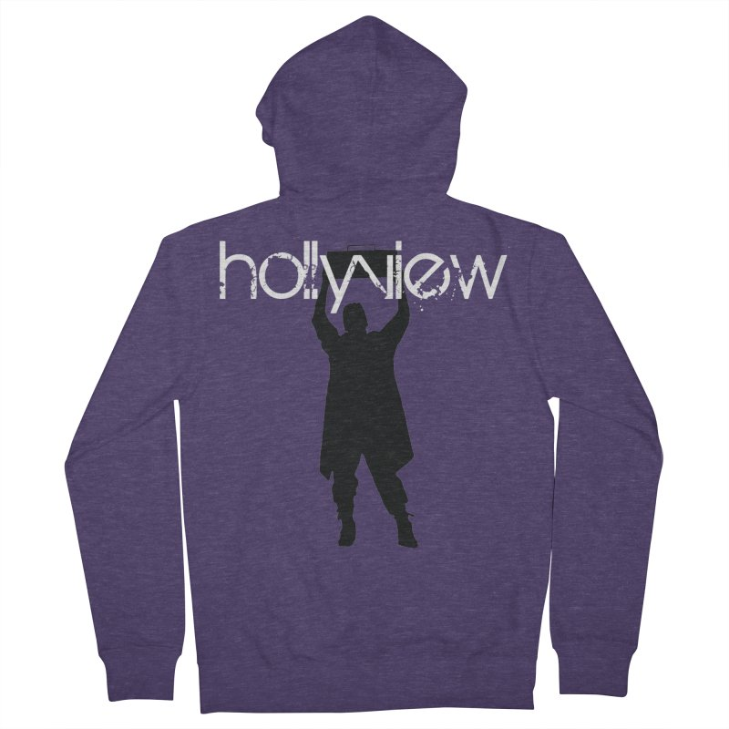 Say Something Something Men's French Terry Zip-Up Hoody by hollyview's Artist Shop