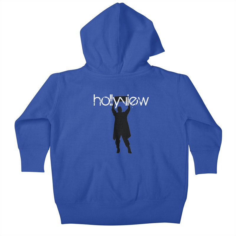 Say Something Something Kids Baby Zip-Up Hoody by hollyview's Artist Shop
