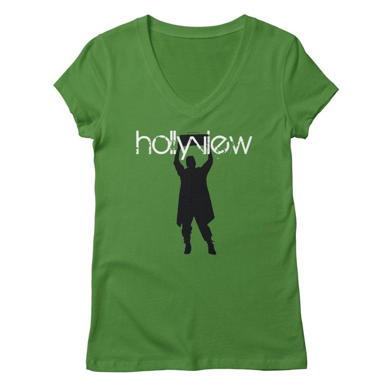 Say Something Something Women's Regular V-Neck by hollyview's Artist Shop