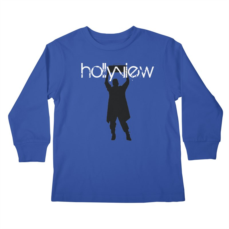 Say Something Something Kids Longsleeve T-Shirt by hollyview's Artist Shop