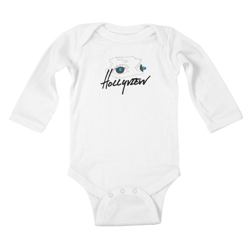 Eyes Kids Baby Longsleeve Bodysuit by hollyview's Artist Shop