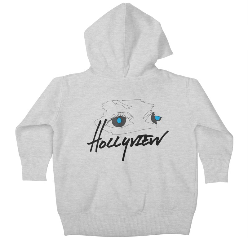 Eyes Kids Baby Zip-Up Hoody by hollyview's Artist Shop
