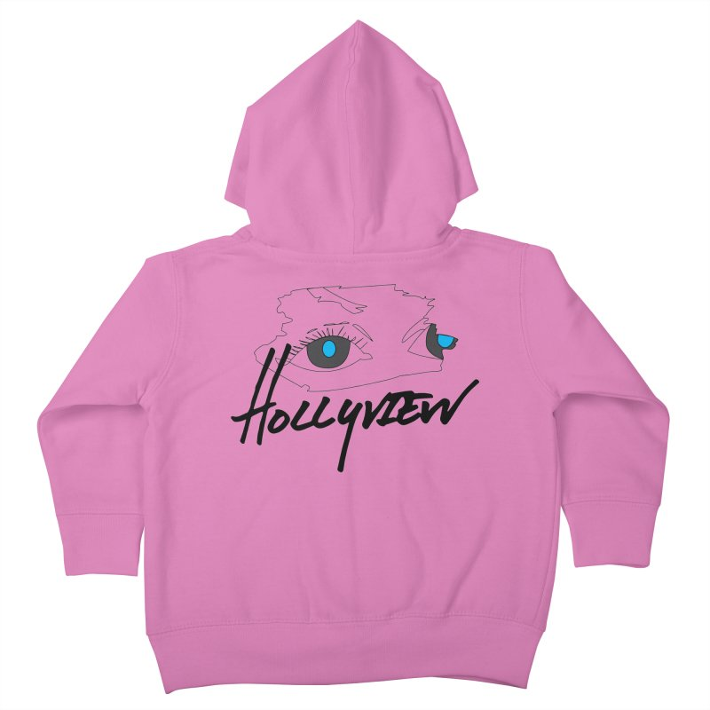 Eyes Kids Toddler Zip-Up Hoody by hollyview's Artist Shop