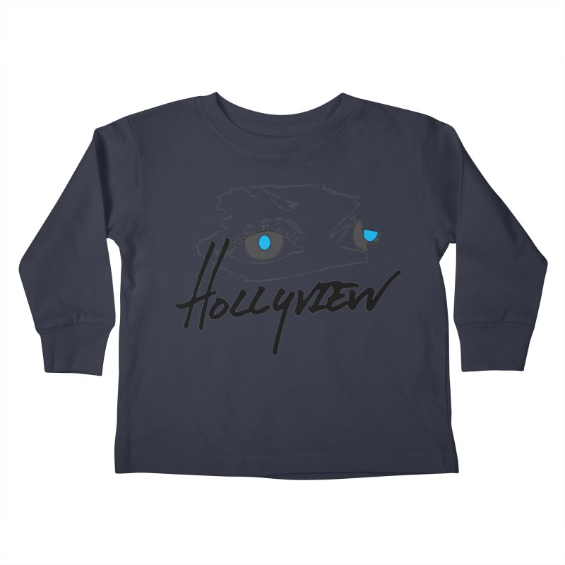 Eyes Kids Toddler Longsleeve T-Shirt by hollyview's Artist Shop