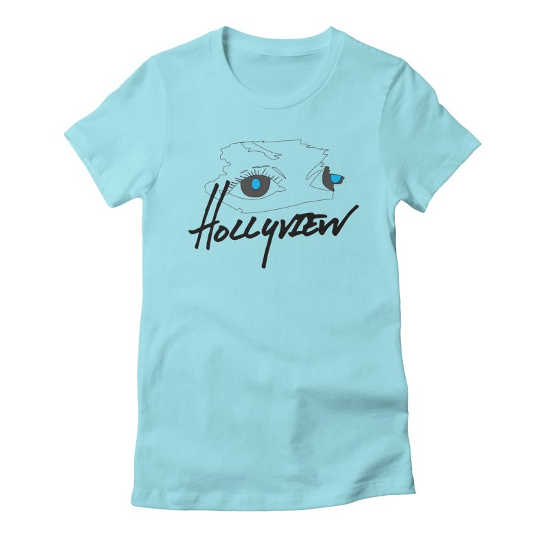 Eyes Women's Fitted T-Shirt by hollyview's Artist Shop