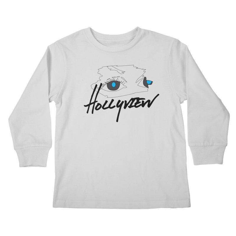 Eyes Kids Longsleeve T-Shirt by hollyview's Artist Shop