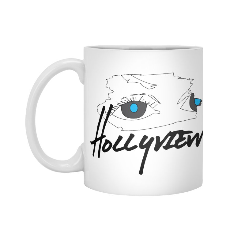 Eyes Accessories Mug by hollyview's Artist Shop