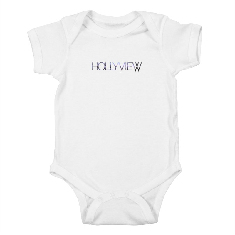 SPACE 1 Kids Baby Bodysuit by hollyview's Artist Shop