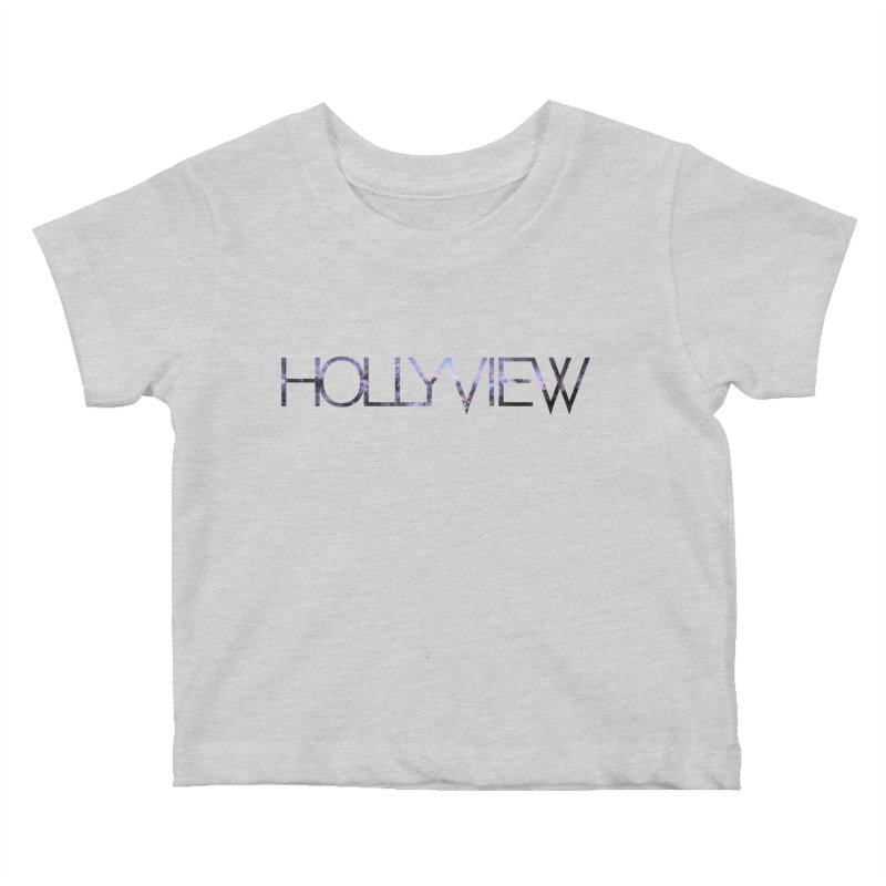 SPACE 1 Kids Baby T-Shirt by hollyview's Artist Shop