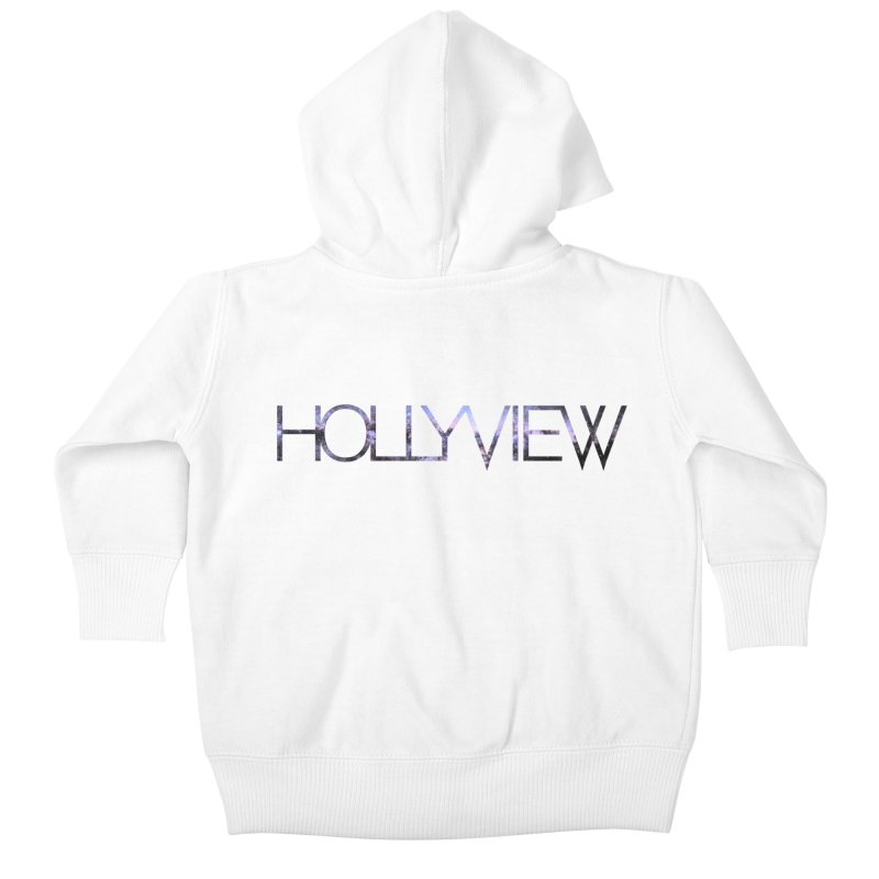 SPACE 1 Kids Baby Zip-Up Hoody by hollyview's Artist Shop