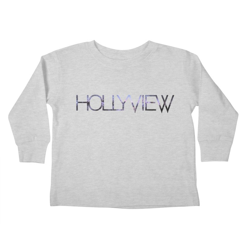 SPACE 1 Kids Toddler Longsleeve T-Shirt by hollyview's Artist Shop