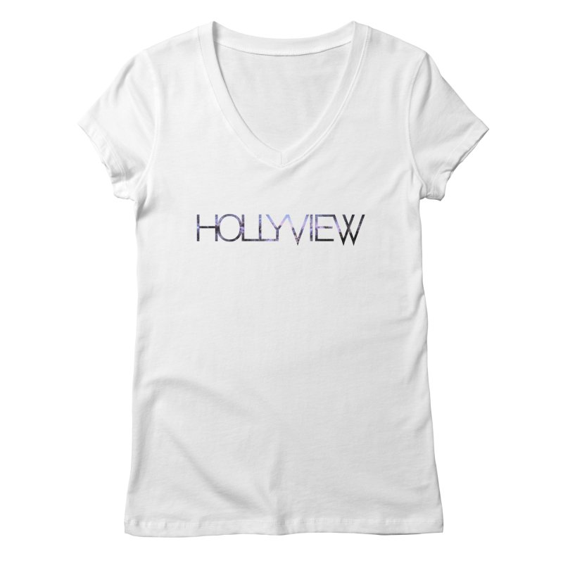 SPACE 1 Women's V-Neck by hollyview's Artist Shop