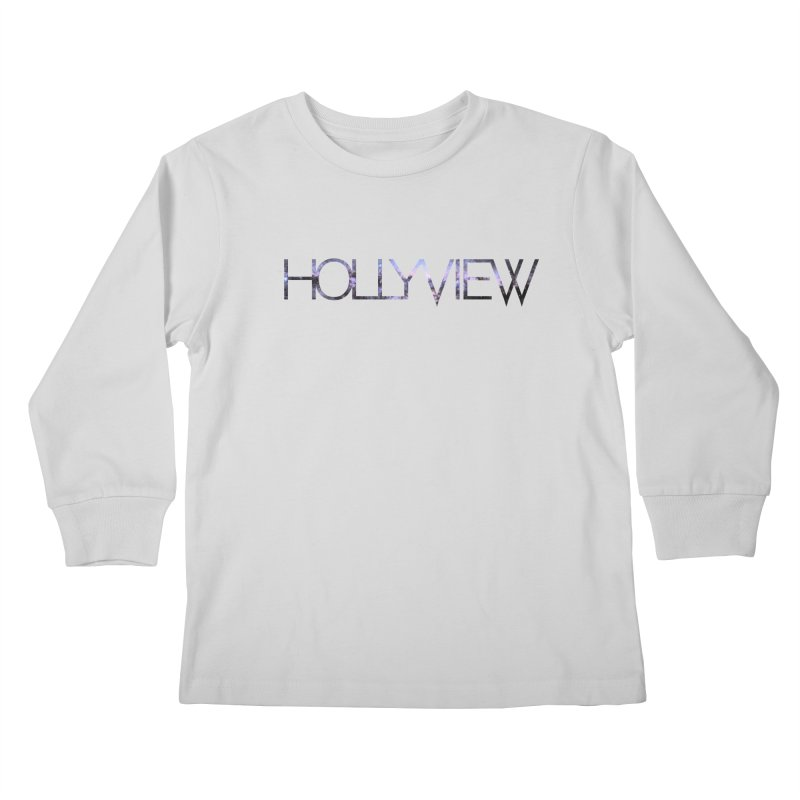 SPACE 1 Kids Longsleeve T-Shirt by hollyview's Artist Shop