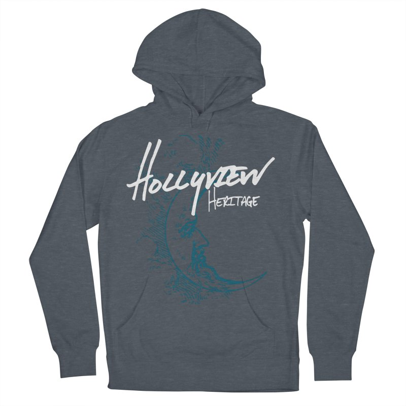 Moon Men's French Terry Pullover Hoody by hollyview's Artist Shop