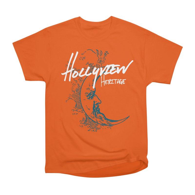 Moon Men's Heavyweight T-Shirt by hollyview's Artist Shop