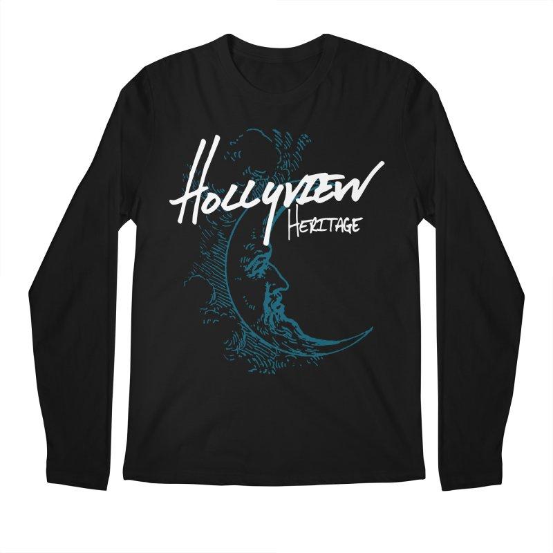 Moon Men's Regular Longsleeve T-Shirt by hollyview's Artist Shop