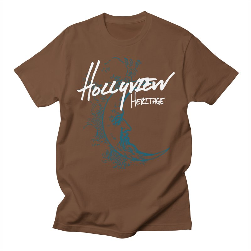 Moon Men's Regular T-Shirt by hollyview's Artist Shop