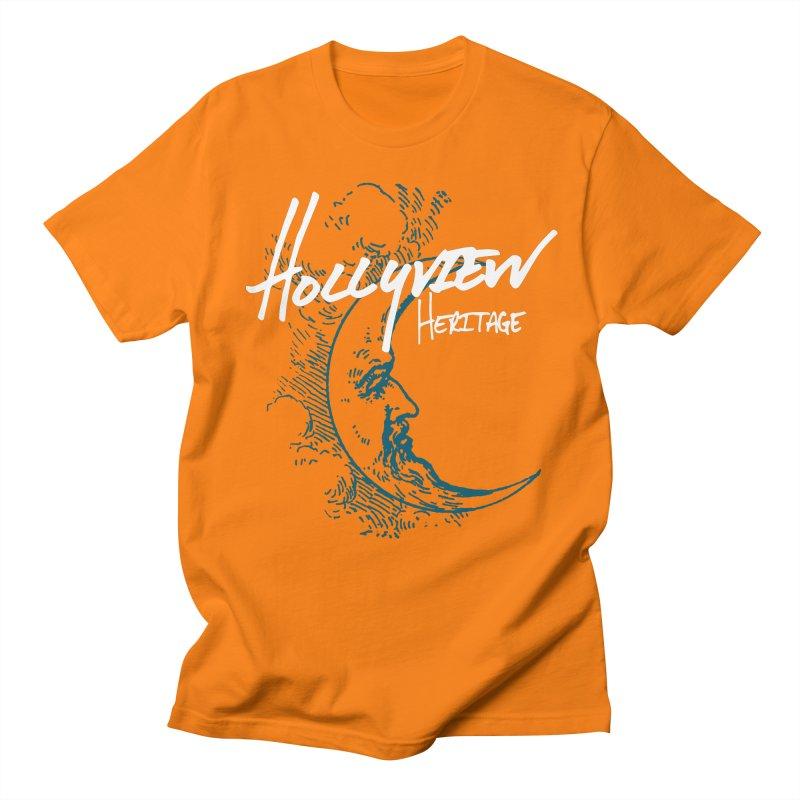 Moon Men's Regular T-Shirt by hollyview's Artist Shop