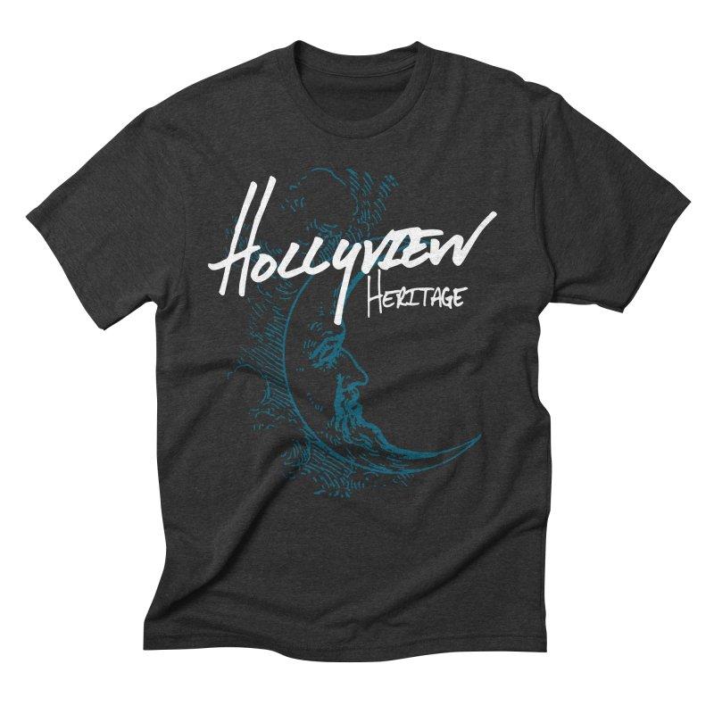Moon Men's Triblend T-Shirt by hollyview's Artist Shop
