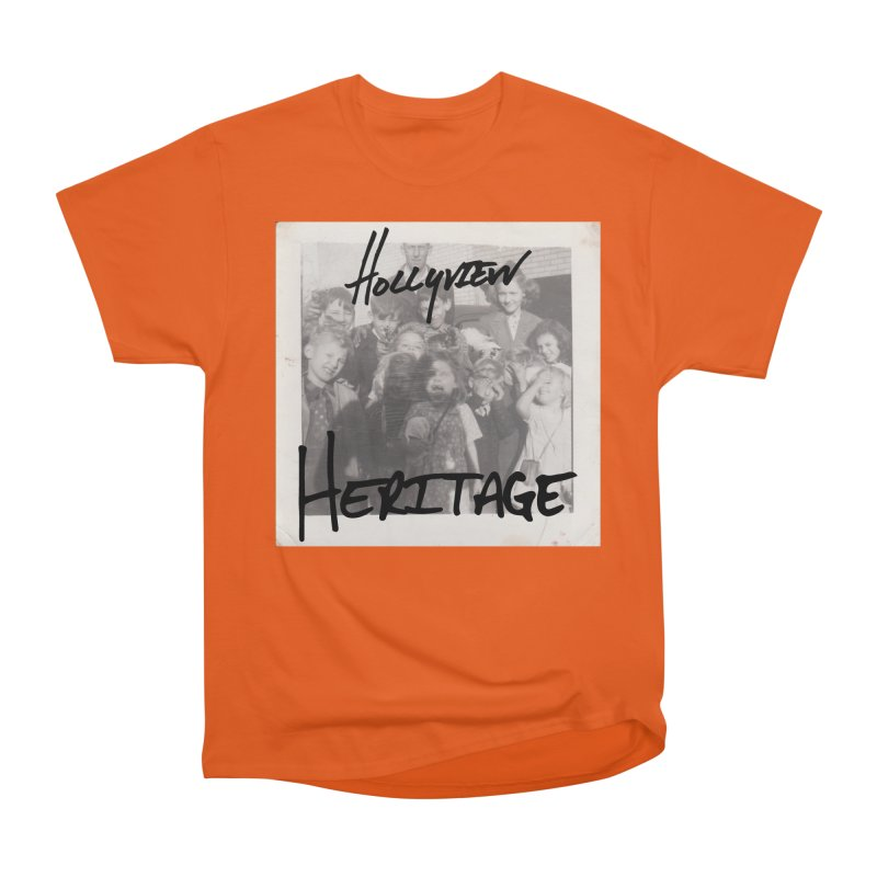 Heritage Cover Men's Heavyweight T-Shirt by hollyview's Artist Shop