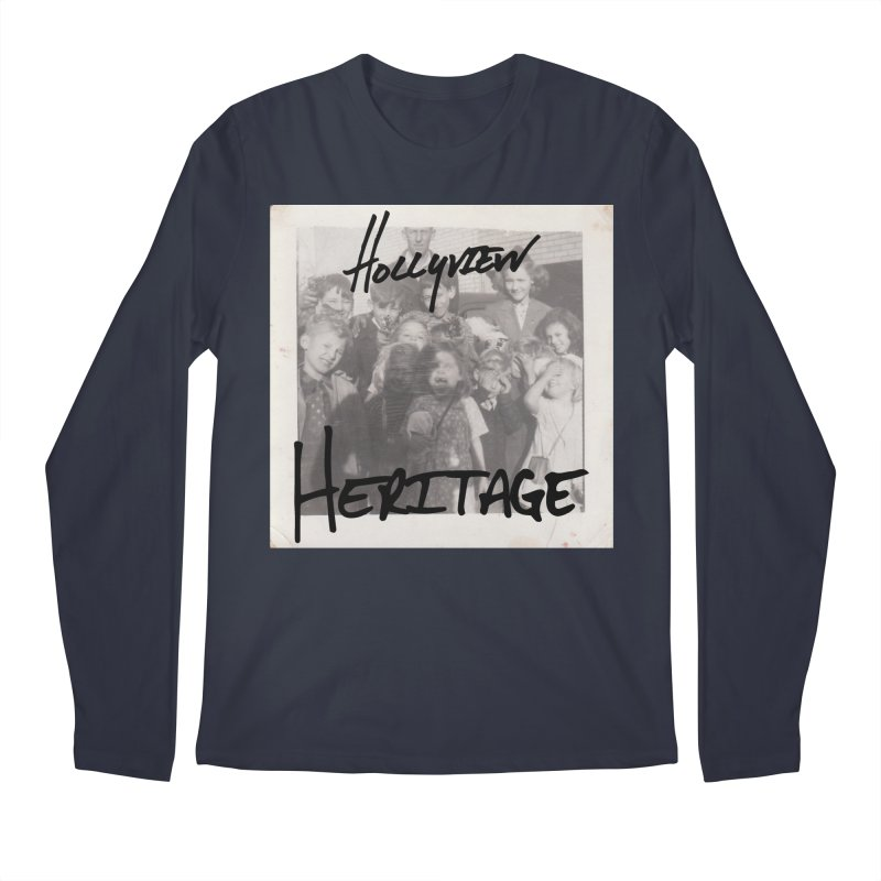 Heritage Cover Men's Regular Longsleeve T-Shirt by hollyview's Artist Shop