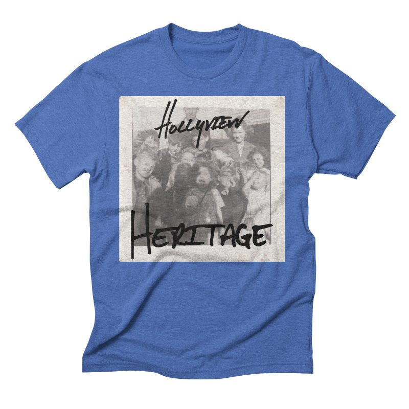 Heritage Cover Men's Triblend T-Shirt by hollyview's Artist Shop