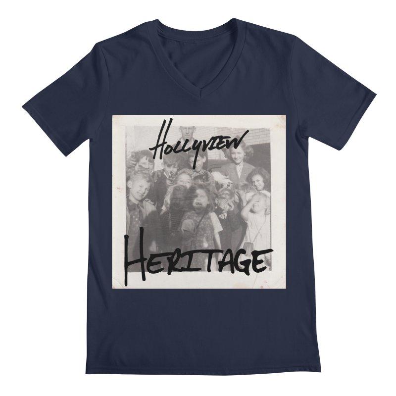Heritage Cover Men's Regular V-Neck by hollyview's Artist Shop