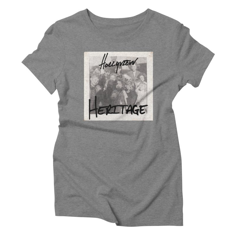 Heritage Cover Women's Triblend T-Shirt by hollyview's Artist Shop