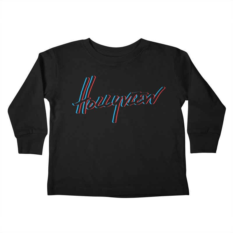 3D Kids Toddler Longsleeve T-Shirt by hollyview's Artist Shop