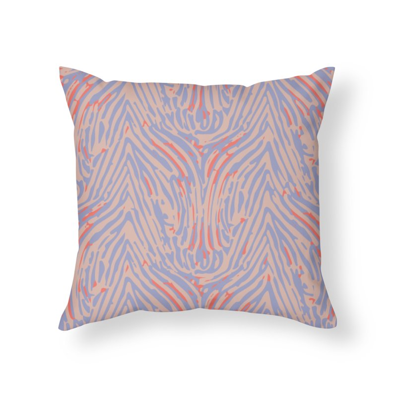 Polyrhachis decora - pink Home Throw Pillow by Holotype