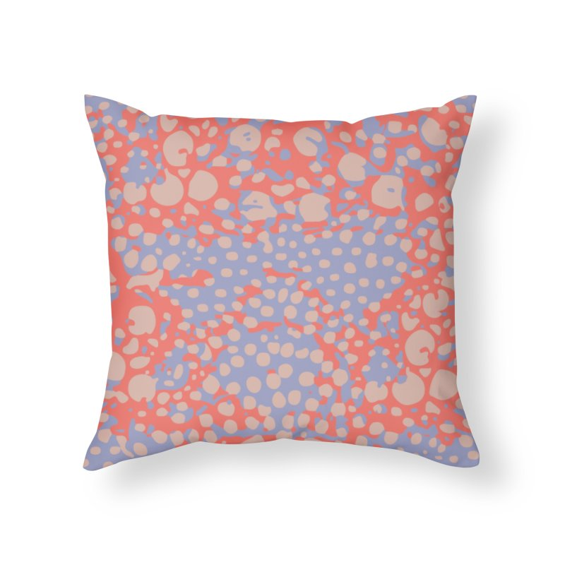 Rhopalothrix diadema - orange Home Throw Pillow by Holotype