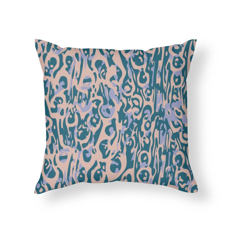 Gnamptogenys taivanensis - tan Home Throw Pillow by Holotype