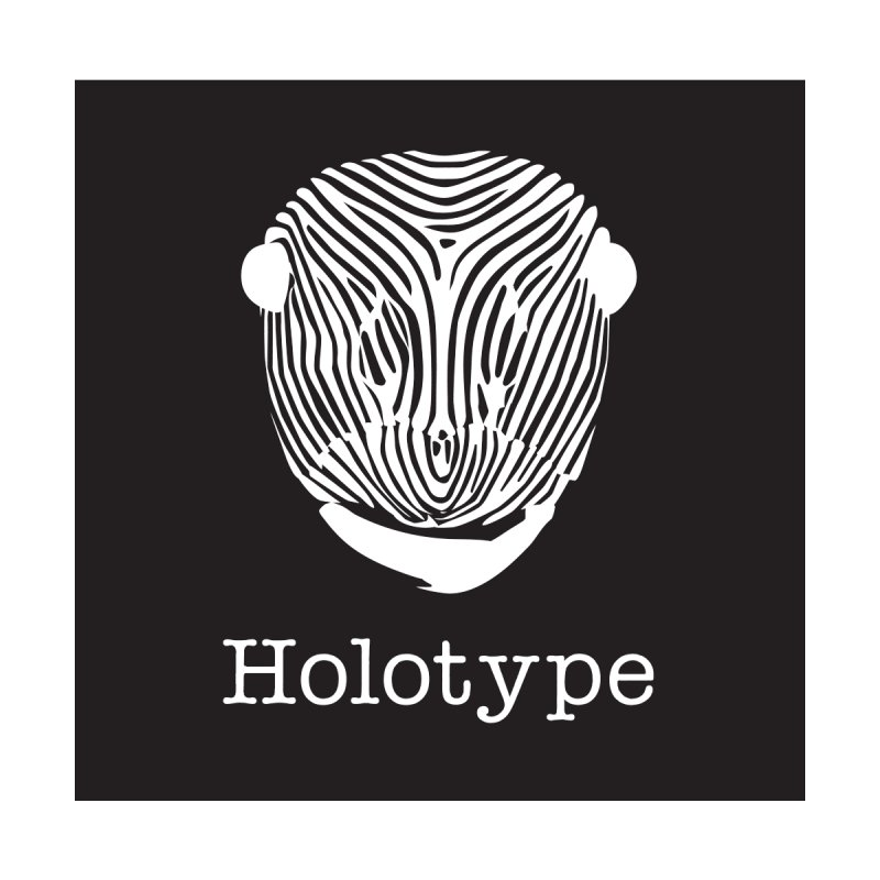 Holotype Square Logo - Black Men's T-Shirt by Holotype