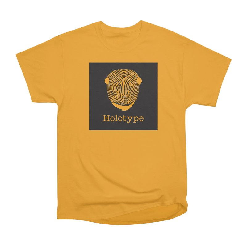 Holotype Square Logo - Black Women's Heavyweight Unisex T-Shirt by Holotype