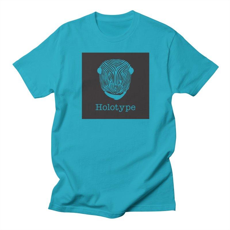 Holotype Square Logo - Black Women's Regular Unisex T-Shirt by Holotype