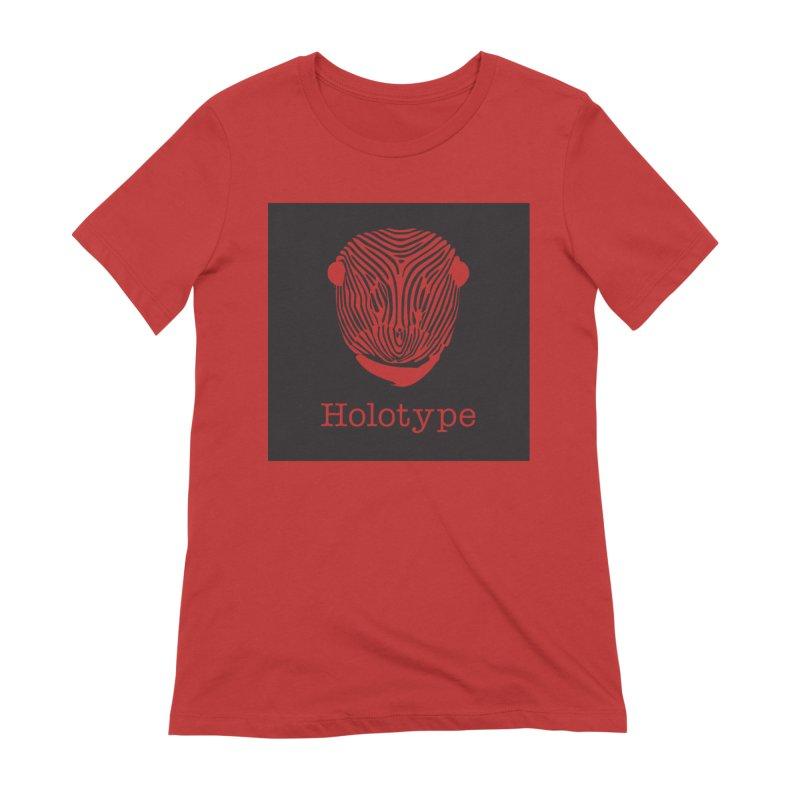 Holotype Square Logo - Black Women's T-Shirt by Holotype