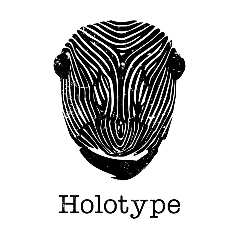 Holotype Logo - Black Men's T-Shirt by Holotype