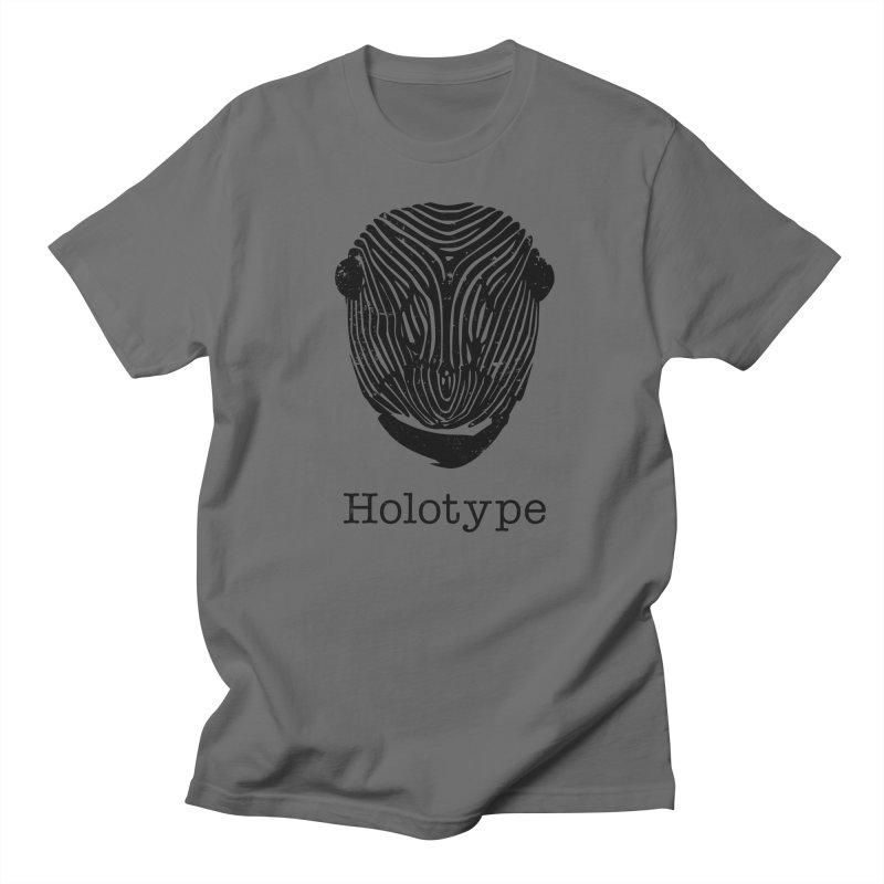 Holotype Logo - Black Men's T-Shirt by Holotype