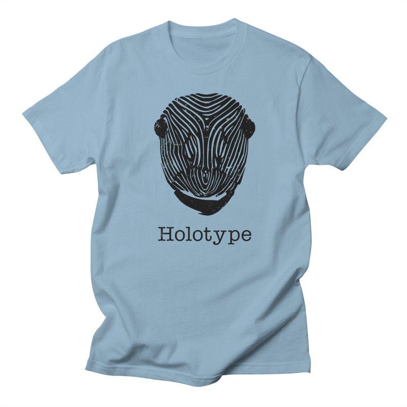 Holotype Logo - Black Women's Regular Unisex T-Shirt by Holotype
