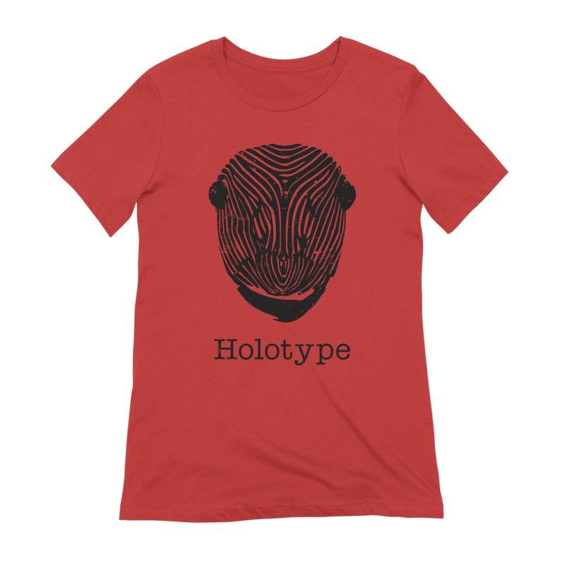 Holotype Logo - Black Women's T-Shirt by Holotype