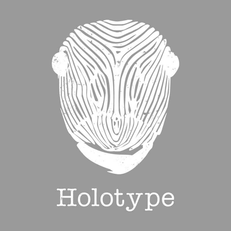 Holotype Logo - White Men's Sweatshirt by Holotype