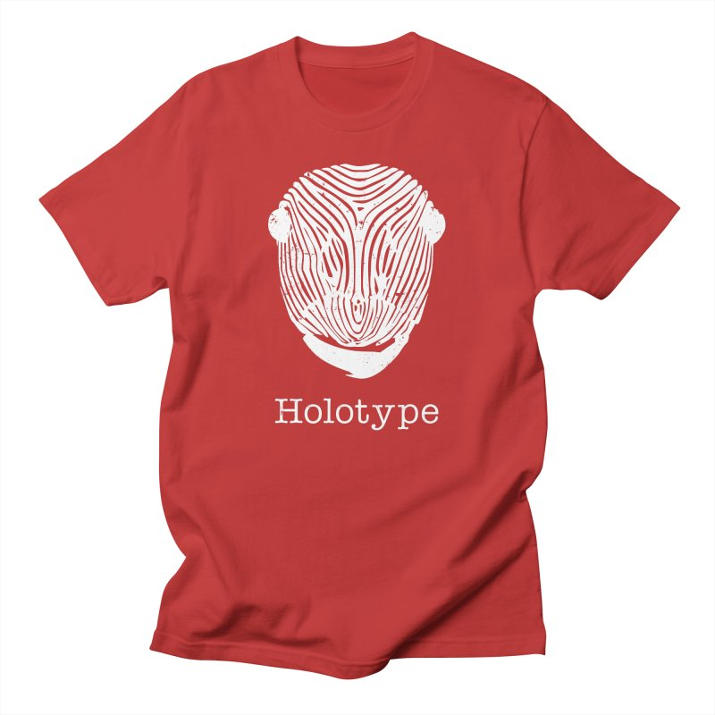 Holotype Logo - White Men's T-Shirt by Holotype