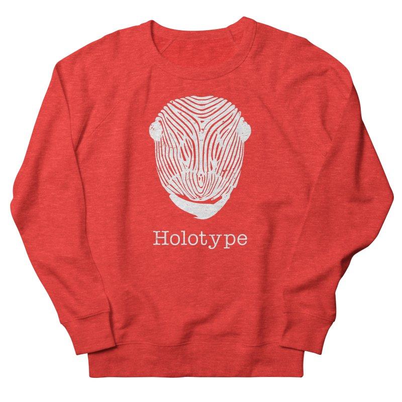 Holotype Logo - White Men's Sweatshirt by Holotype