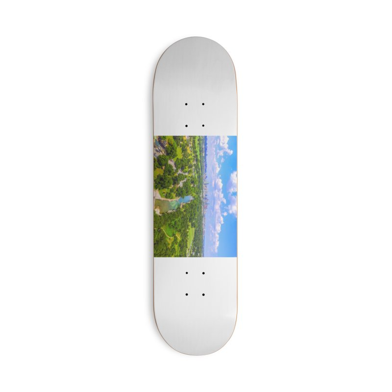 Barton Springs Pool / Custom Merchandise / Aerial Photography Accessories Deck Only Skateboard by Holp Photography Artist Shop