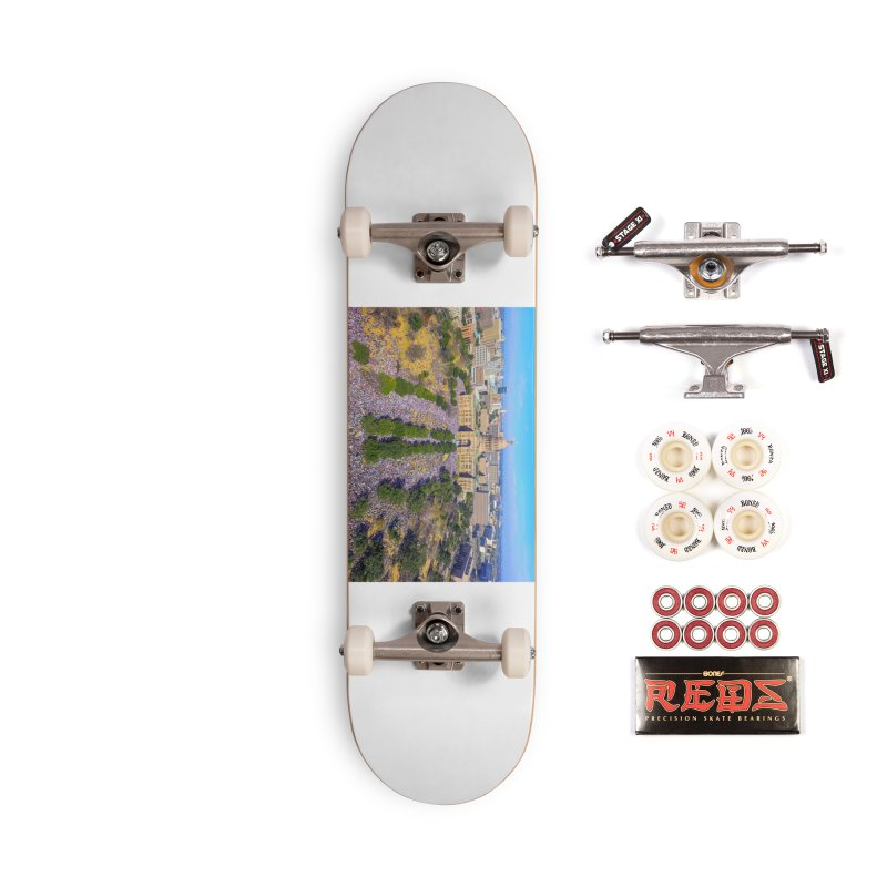 Capitol Women's March / Custom Merchandise / Aerial Photography Accessories Complete - Pro Skateboard by Holp Photography Artist Shop